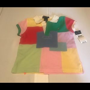 🔥⚡️BOGO SALE⚡️🔥 Ralph Lauren patchwork girl polo